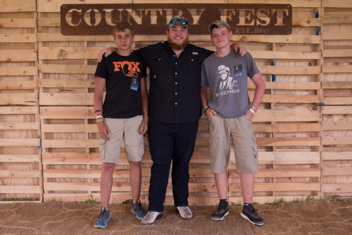 Luke combs 2018 country music festival in wisconsin country get updates m4hsunfo